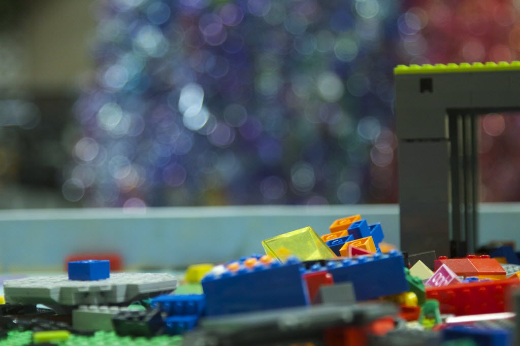 Legos give ample opportunity for children to use their imaginations and creativity. Children can find the Lego table in the lower level area of SPARK! in Dallas.