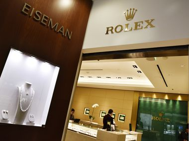 Eiseman Jewels and its Rolex store at NorthPark Center. Richard Eiseman plans to expand the Rolex boutique later this year into adjacent space now temporarily housing the Louis Vuitton men's store.