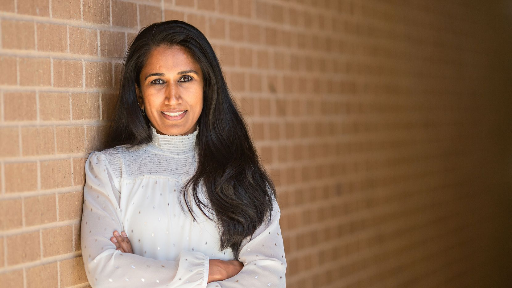 Sabari Raja of Nepris, an educational technology company in Frisco.