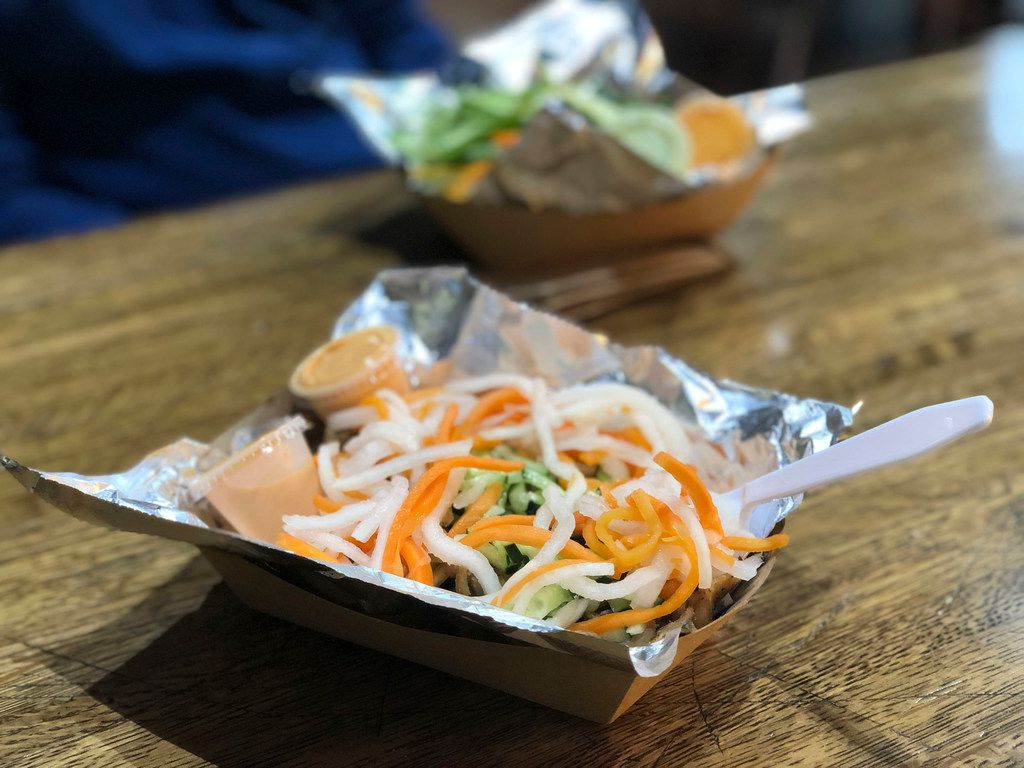 Nammi might be best known for its banh mi sandwiches, but the bowls are a great lower-carb option.