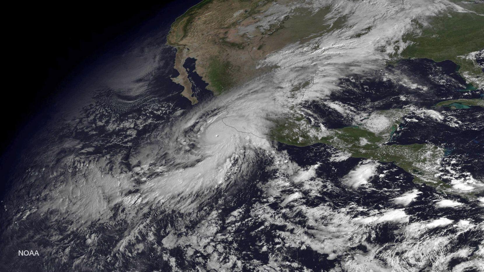 El Centro Nacional de Huracanes de Estados Unidos declaró a Blanca como la segunda tormenta tropical del Pacífico este 2021. Foto de archivo.