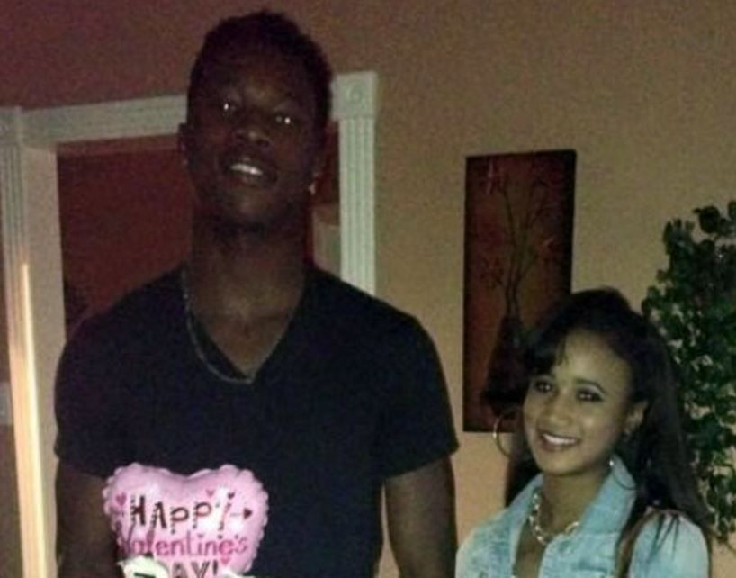 """Alexis """"Lexo"""" Adams and her boyfriend, Ledajrick """"LD"""" Cox, who died in a drive-by shooting Sunday in Irving."""