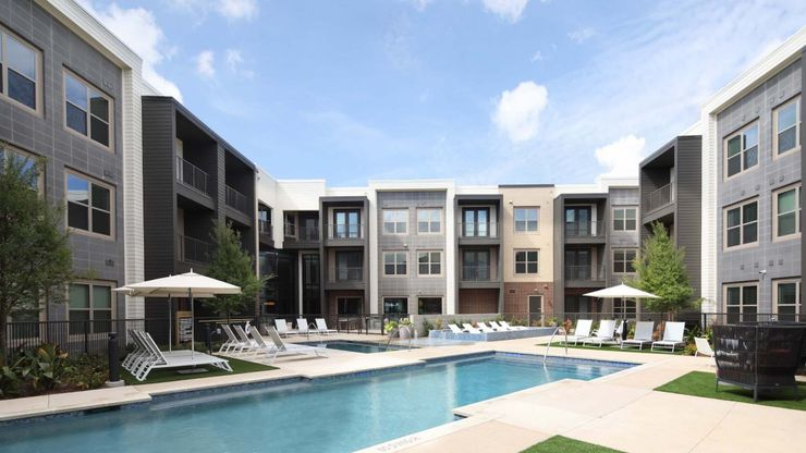 The Kinstead apartments are near S.H. 121 in McKinney.