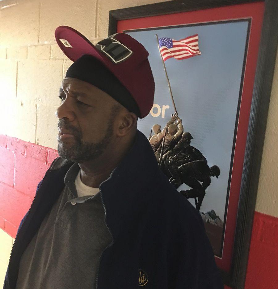 Robert White is one of around 5,000 homeless veterans in North Texas.