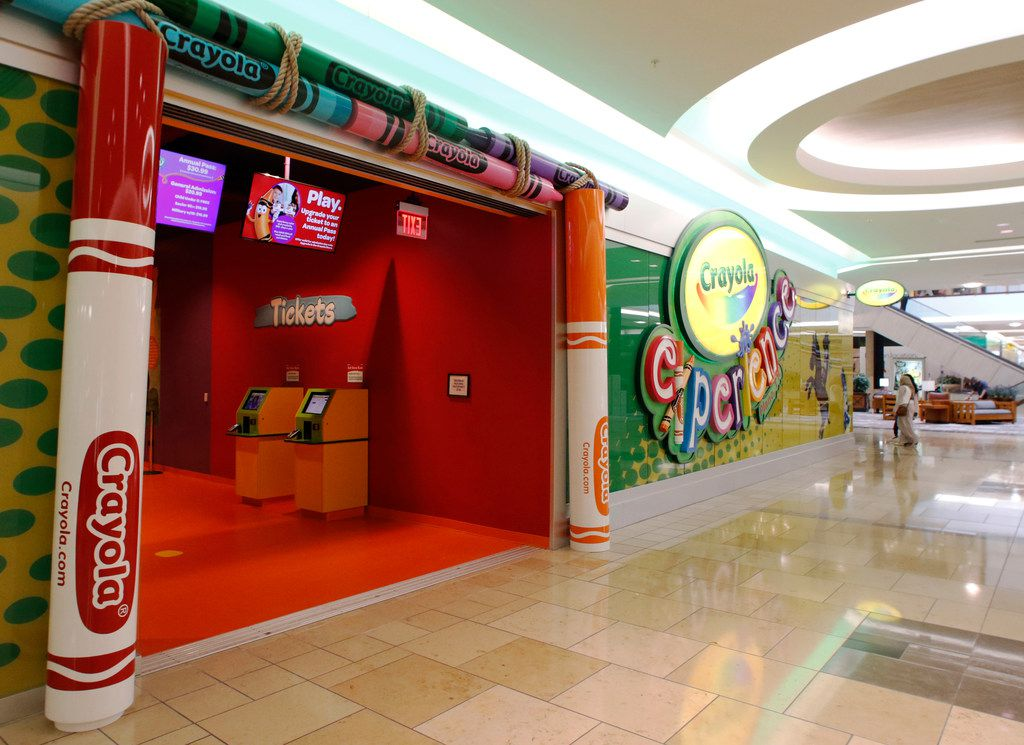 Crayola Experience Plano opened on Friday, March 23, 2018 at The Shops at Willow Bend.