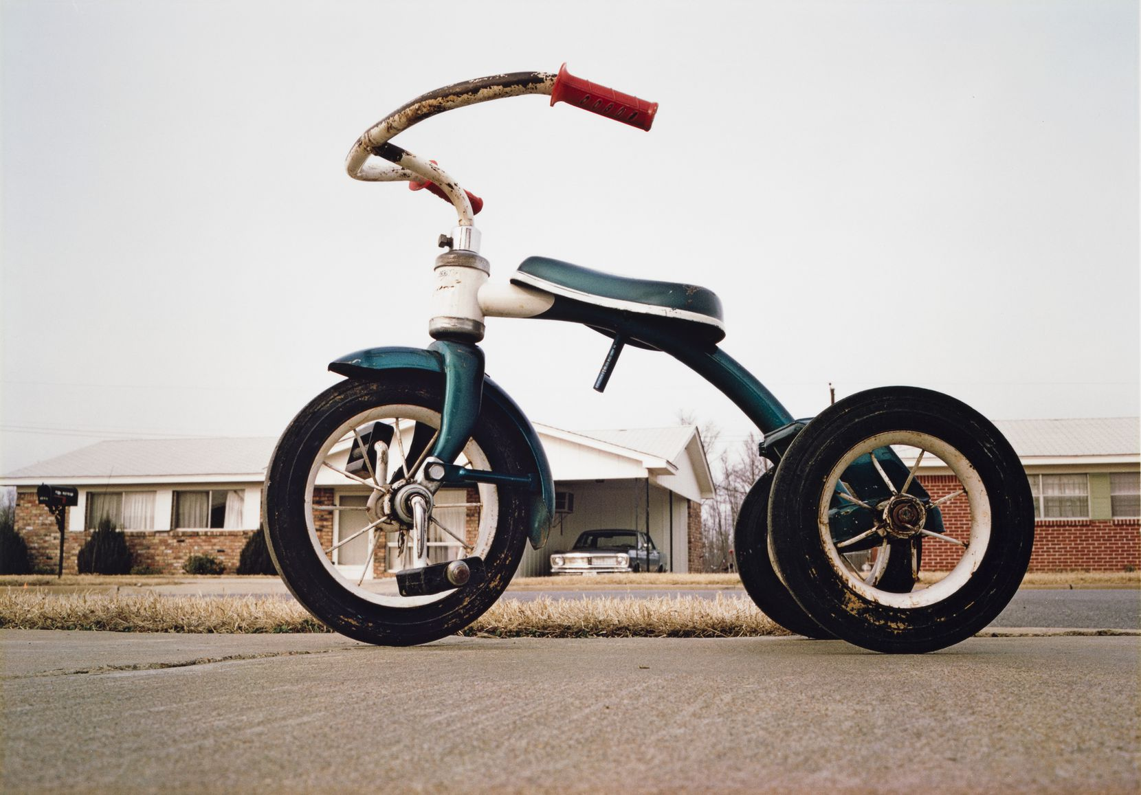 An untitled 1970 photograph by William Eggleston is one of the works that the museum has acquired.