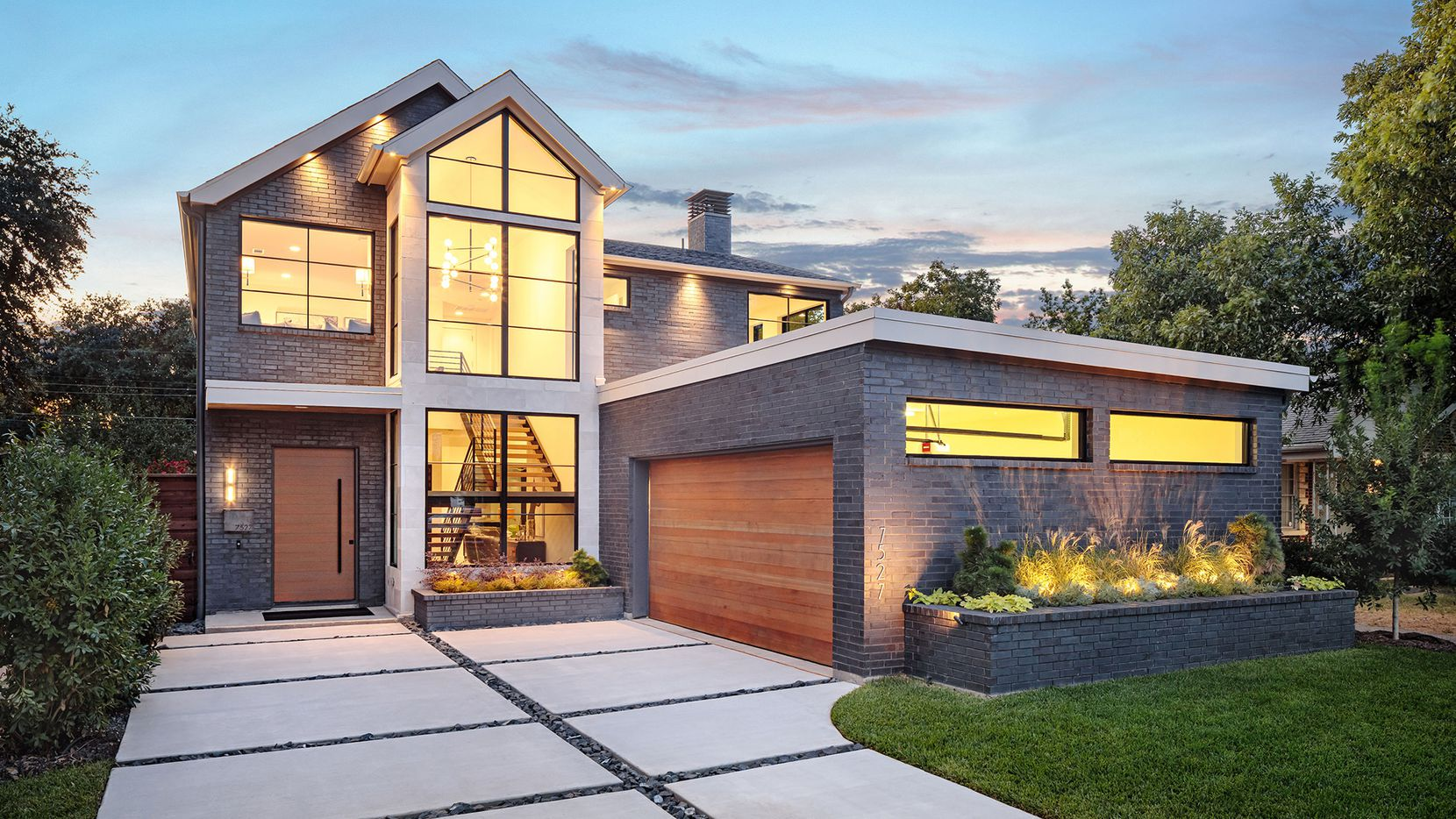 The new-construction smart home at 7527 Morton St. is by R.A. Millennium Properties. It is offered for $1,350,000.