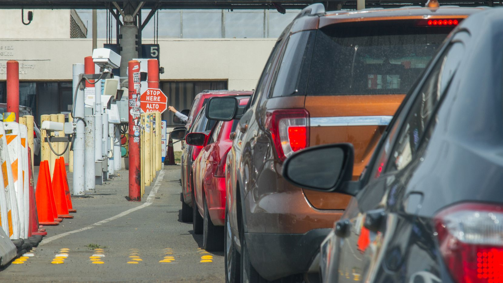 La frontera de Estados Unidos con México ha permanecido cerrada parcialmente desde el 21 de marzo, por la pandemia de coronavirus.