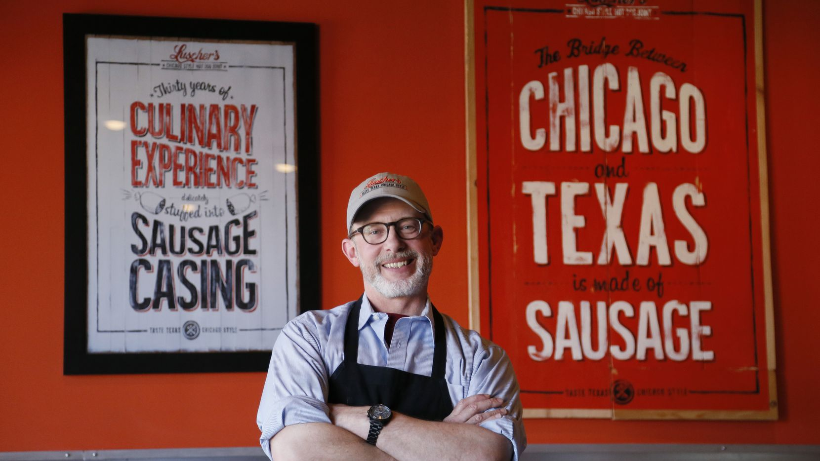 Brian C. Luscher was chef/owner of the Grape, but is now moving on to another restaurant group.