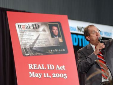 In this 2006 file photo, the Rev. Irvin Baxter speaks at an Endtime Ministries conference opposing the act that set national standards for driver's licenses. Baxter died last week after being diagnosed with COVID-19.