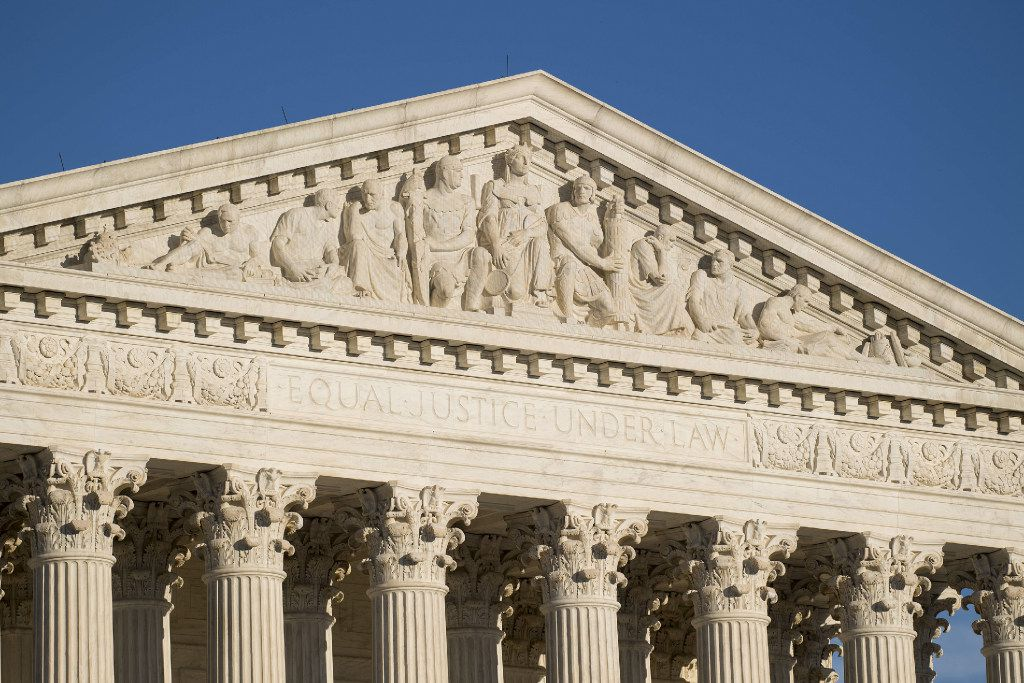 The U.S. Supreme Court could be called on to decide whether the Indian Child Welfare Act is constitutional after a Fort Worth coup[e's challenge.. l Clark/Congressional Quarterly/Newscom/Zuma Press/TNS)