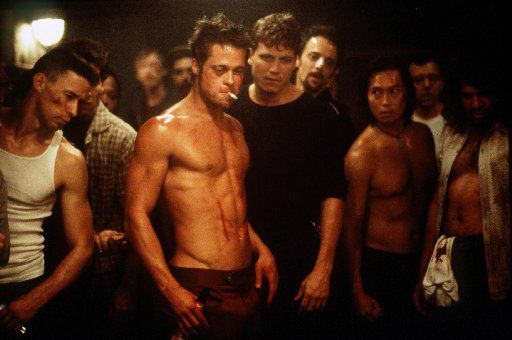 Brad Pitt (center) starred in Fight Club, a film that was underappreciated when it was released in 1999.