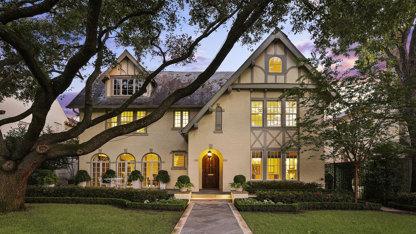 The five-bedroom Tudor-style home at 3509 Princeton Ave. in Highland Park is pending.