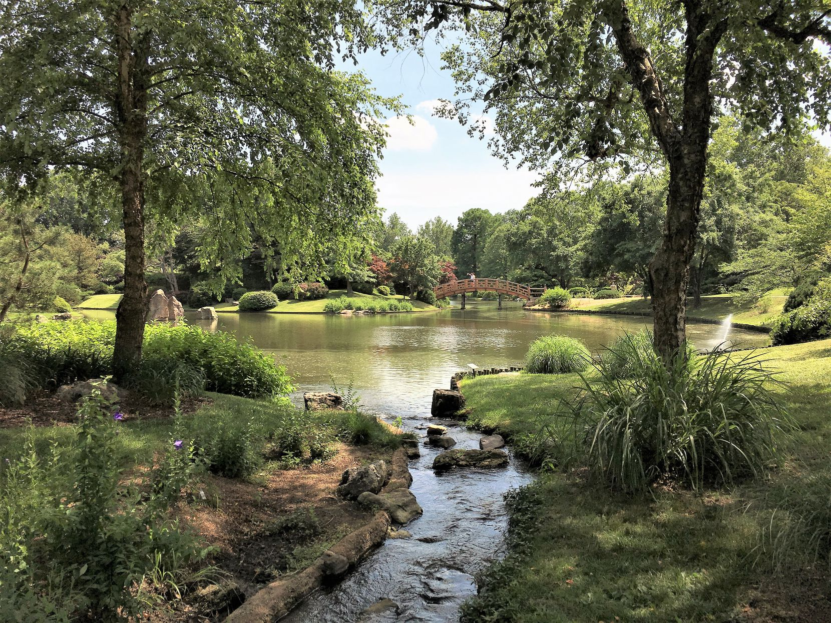 The Japanese Garden is a calming oasis at Missouri Botanical Garden in St. Louis.