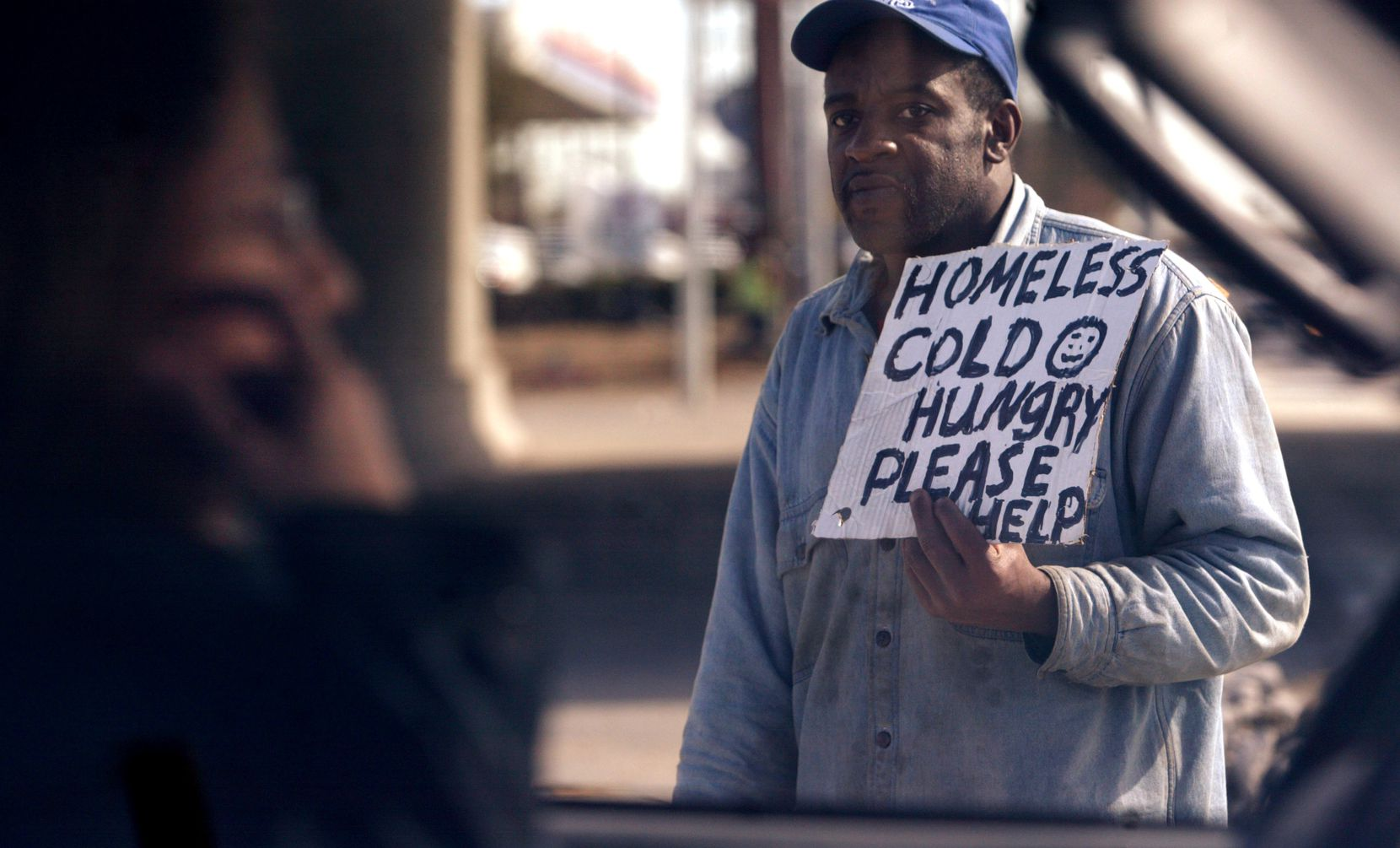 """An anti-panhandling law in Dallas was abandoned in 2018, and a subsequent awareness campaign recently failed. Now some Dallas city council members want the city manager to address """"aggressive panhandling"""" in his proposed budget."""