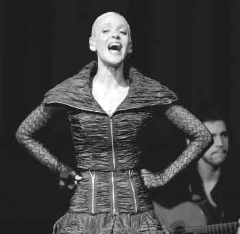 Mariza displayed intense vocal control Sunday night in her performance of fado music, a Portuguese genre of sorrow.