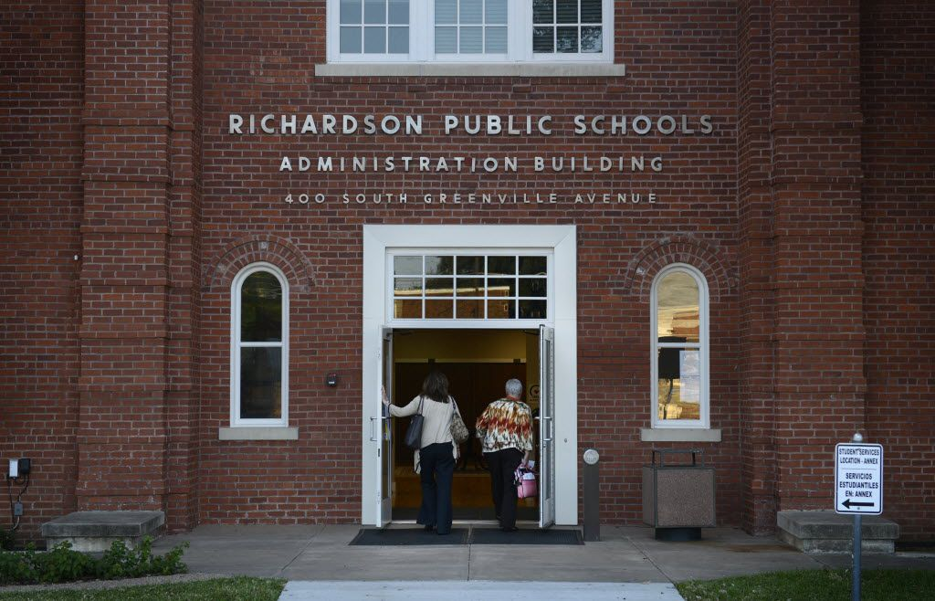 Richardson ISD Administration Building is pictured in this file photo.