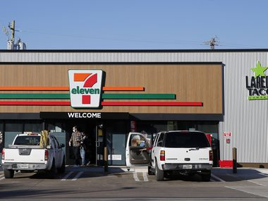 Exterior of 7-Eleven near the intersection of Audelia Road and Walnut Hill Lane on Wednesday, November 18, 2020 in Dallas.