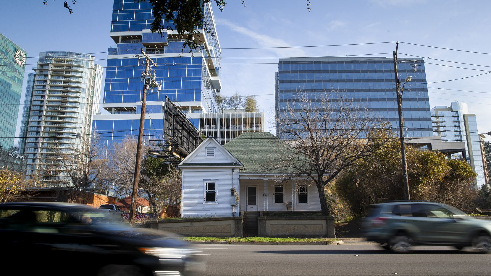 Dallas City Hall has received a demolition application for 2814 Harry Hines Blvd., one of the last residences still standing in Little Mexico.