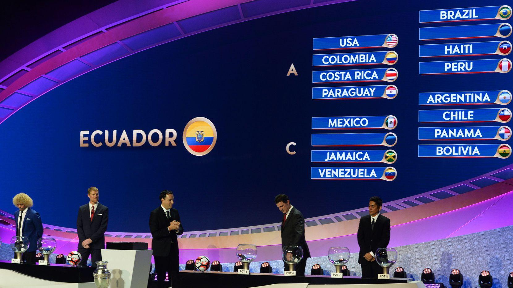 La Copa América Centenario se jugará en Estados Unidos en junio. Foto GETTY IMAGES