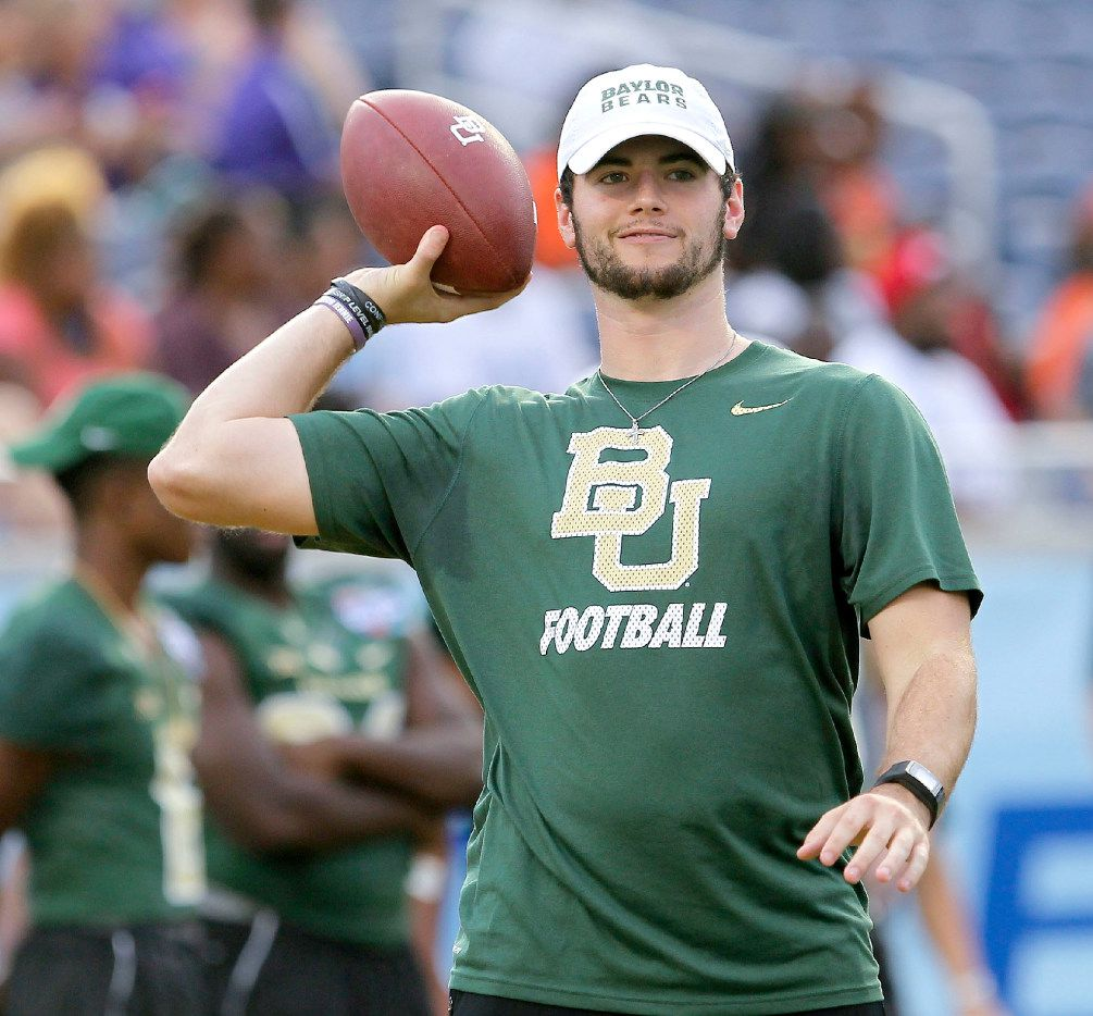 Ex Baylor Qb Jarrett Stidham Picked To Be Cfb S Biggest Breakout Star By National Writer