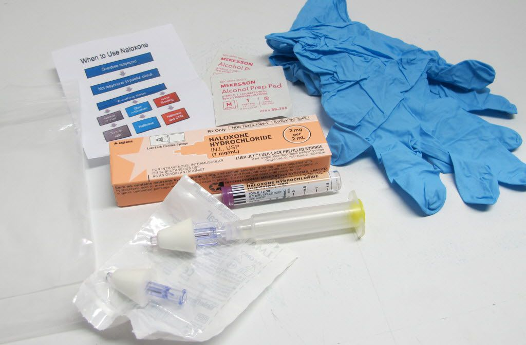 Some rural areas distribute overdose kits that can be used in an emergency overdose.