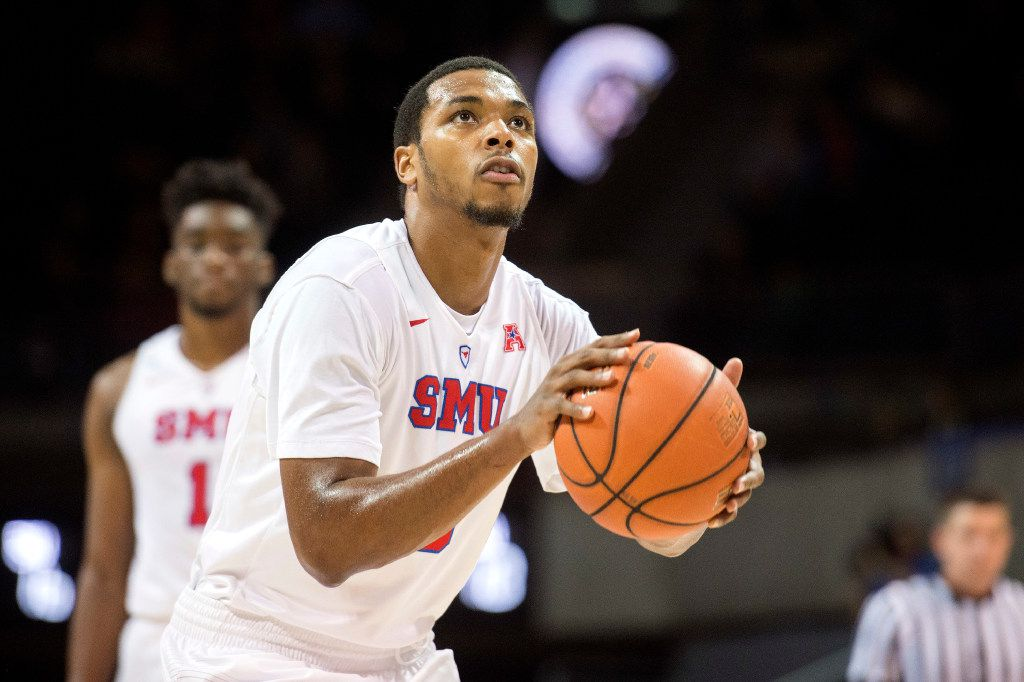 SMU guard Sterling Brown.