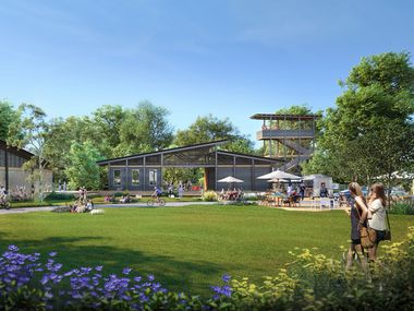 The 1,100-acre Painted Tree community will include miles of walking trails and outdoor amenities.