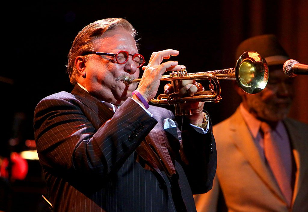 Arturo Sandoval is a famous jazz trumpeter.