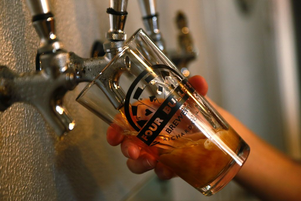 Four Bullets Brewery opened in 2015 in Richardson. Guests at the Brewer's Brew Off and Competition will choose a new recipe to be produced commercially.