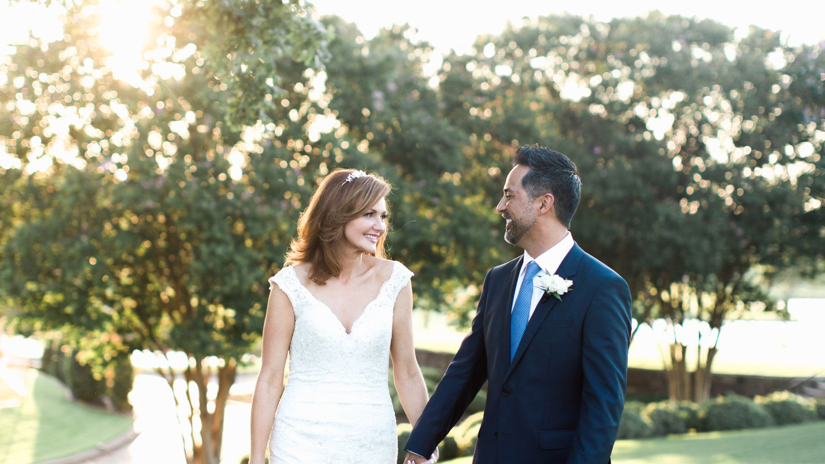 Kellie Rasberry married Allen Evans on July 1.