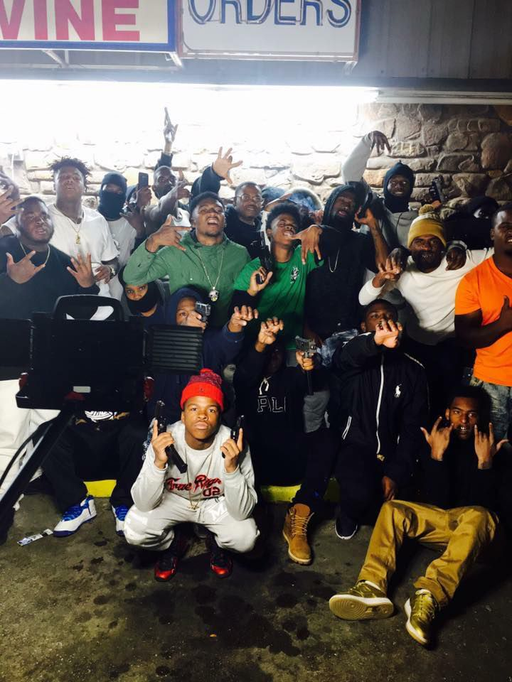Nykees Campbell and YNB Stretch Gang