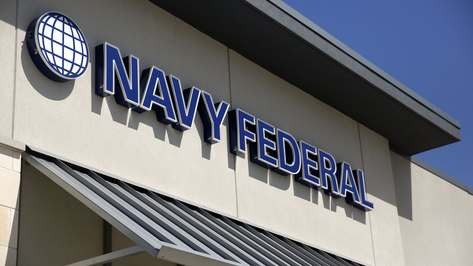 An exterior view of Navy Federal Credit Union's Northwest Highway branch in Dallas.