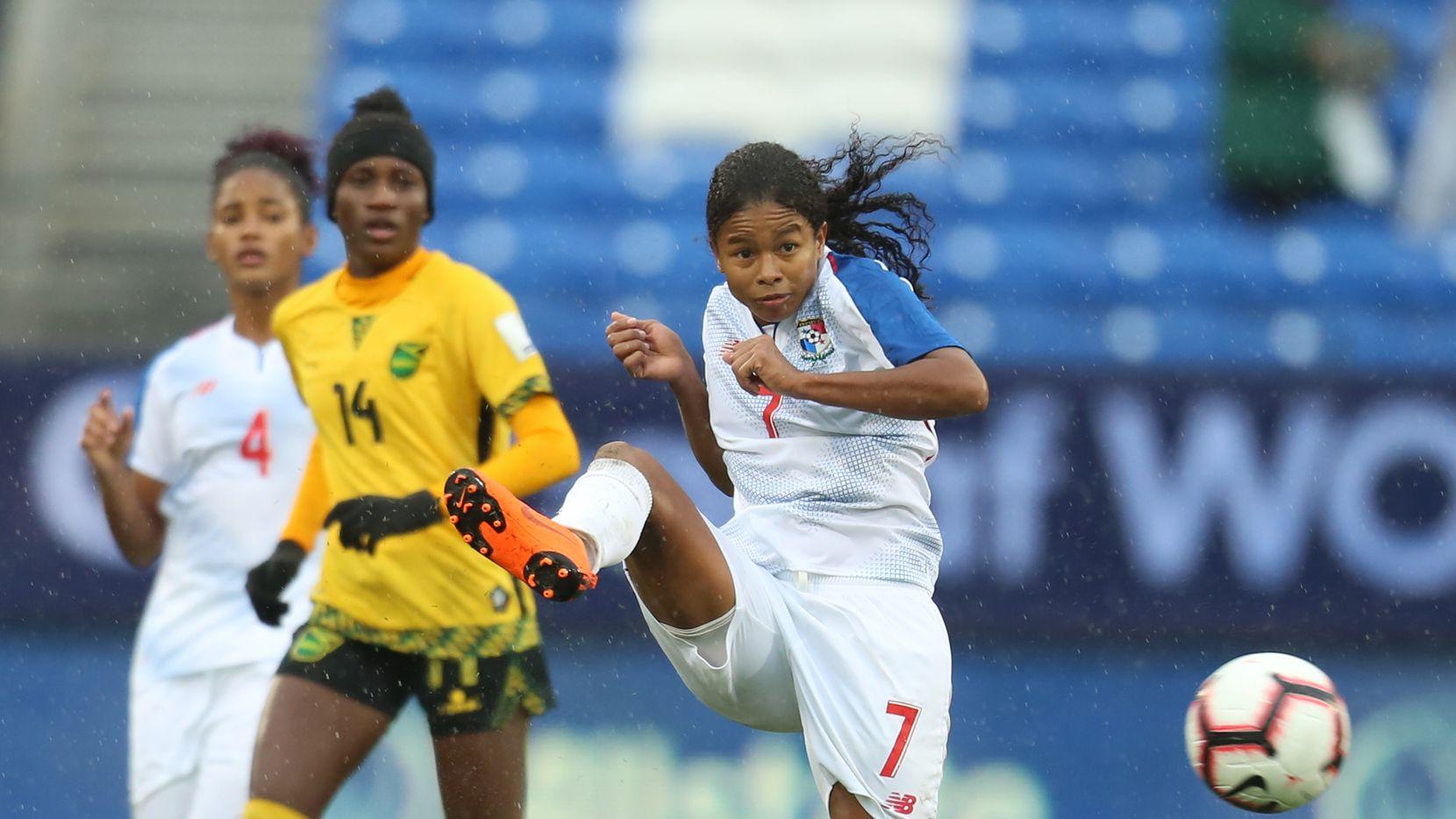 Jamaica venció 2-1 a Panamá en el Premundial femenil disputado en Frisco. Foto de Omar Vega para Al Día