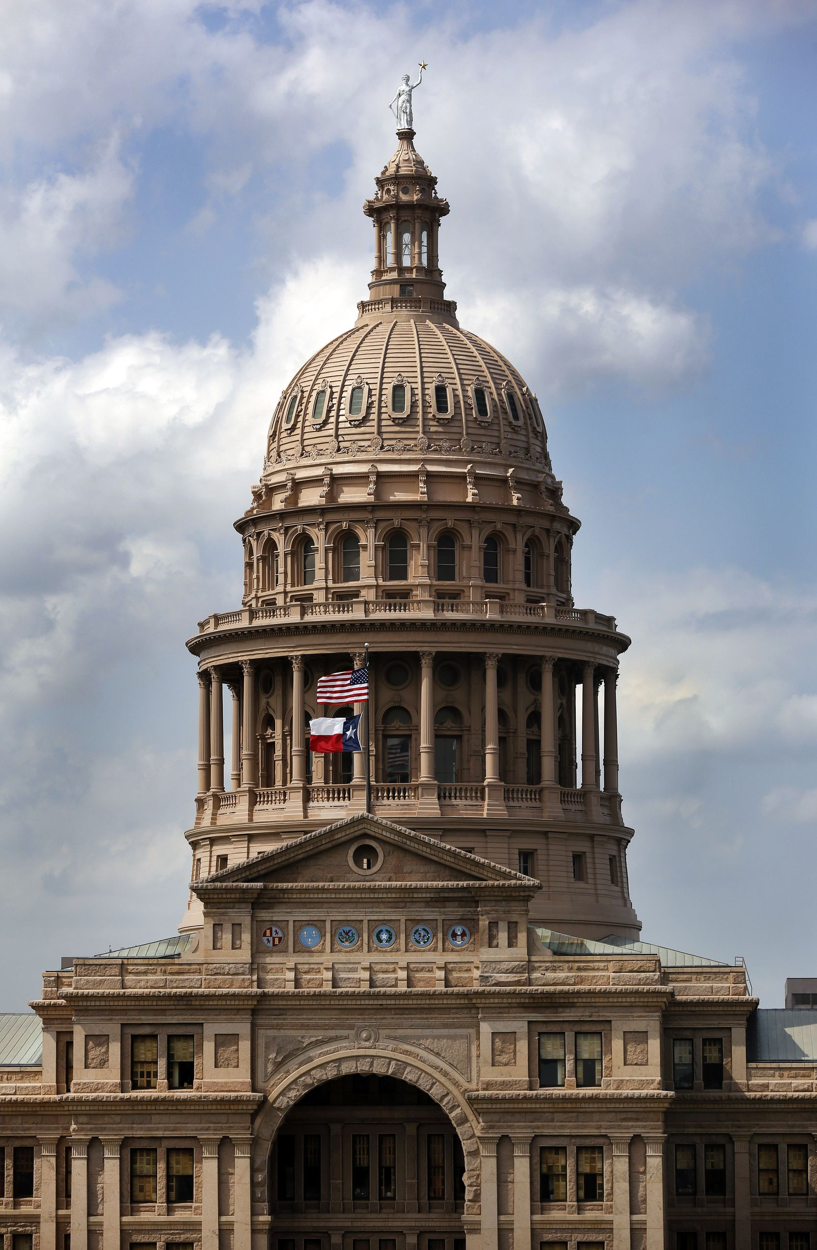 An exterior view of Texas Capitol in Austin, Texas, Wednesday, May 22, 2019. (Tom Fox/The Dallas Morning News)