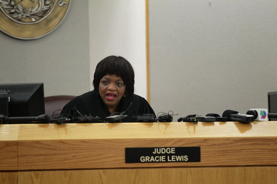 Judge Gracie Lewis, who had given Dominique Alexander deferred adjudication probation in 2011 after he pleaded guilty to serious bodily injury to a child, ordered him back to prison Friday for two years.  (File Photo/Staff)
