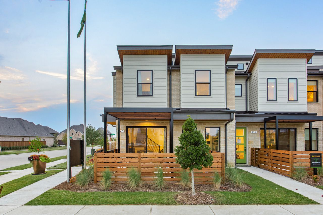 Grenadier Homes builds both townhouses and single-family villas.