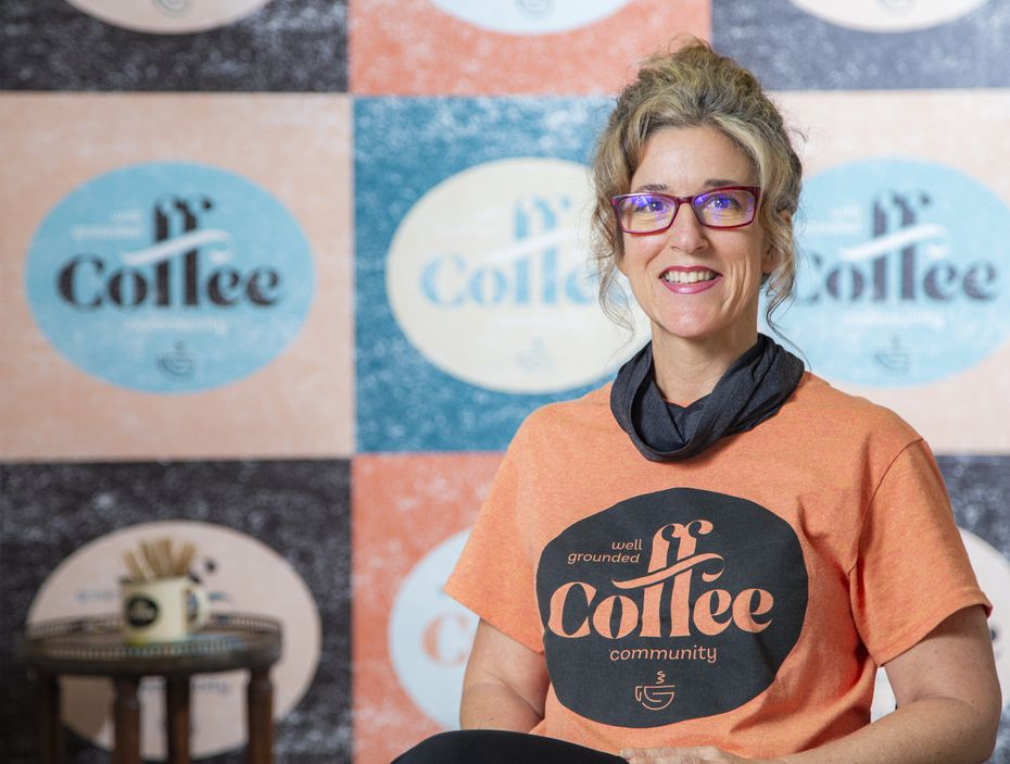 Well Grounded Coffee Community co-president Natalie Huscheck employs four formerly incarcerated women at her cafe in Dallas.