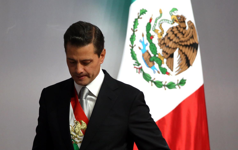Enrique Peña Nieto deja la presidencia de México el 1 de dciembre.(AGENCIA REFORMA)