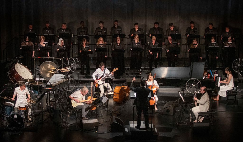 """The Verdigris Ensemble and Bang on a Can All-Stars perform Julia Wolfe's """"Anthracite Fields."""""""