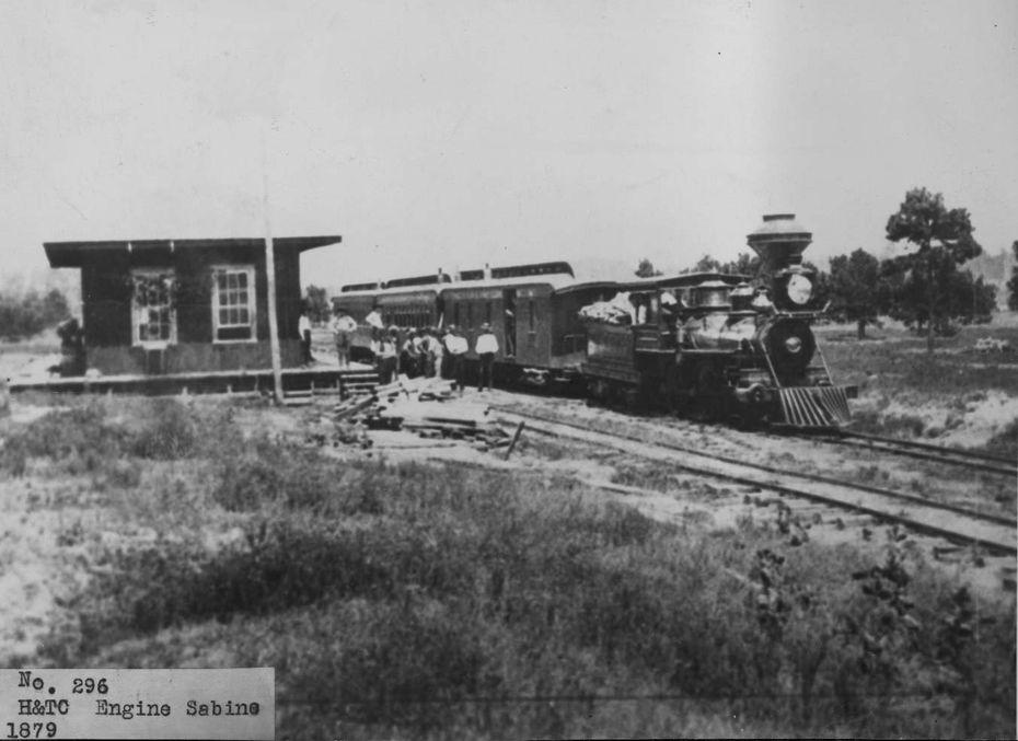 Houston & Texas Central Railroad in 1879.