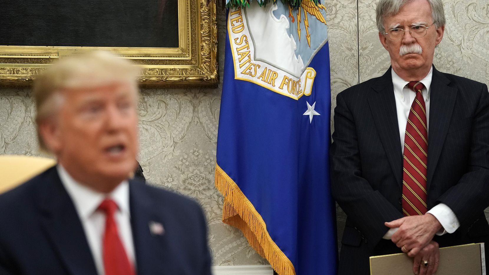 John Bolton, asesor de Seguridad Nacional, en un evento el 18 de julio en la Casa Blanca.