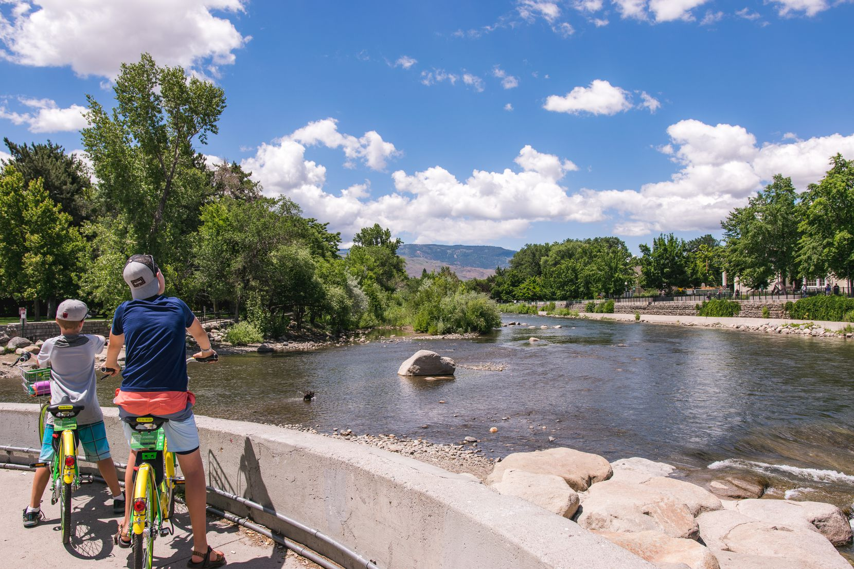 The long distance trails around Lake Tahoe offer majestic lake views for outdoor adventure seekers.