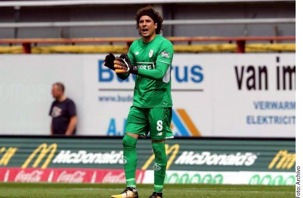 El portero del Standard de Lieja tomará el respectivo descanso después de la Copa del Mundo./ AGENCIA REFORMA