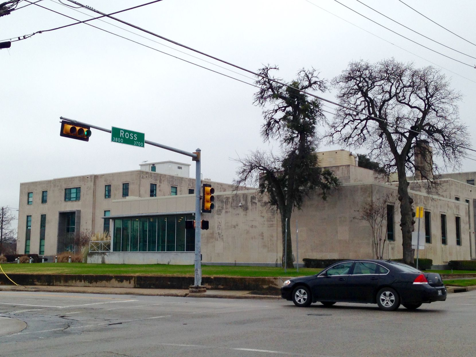 The old DISD headquarters complex on Ross Avenue will be the site of a new apartment and mixed-use project.