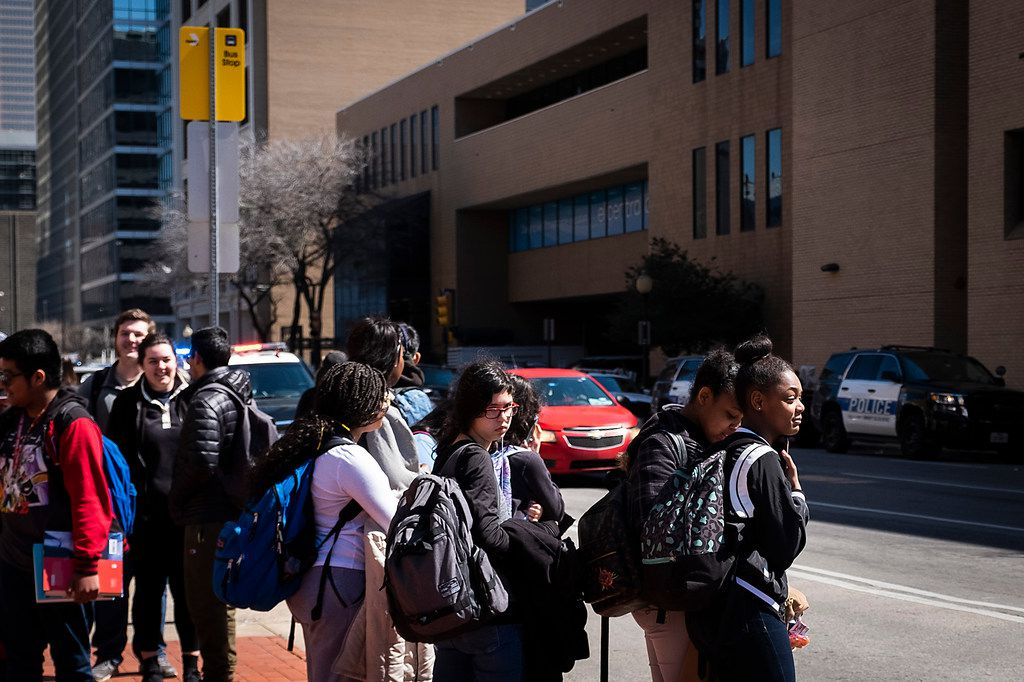 El Centro College in downtown Dallas was placed on lockdown for about 45 minutes Tuesday morning because of an intruder alert.