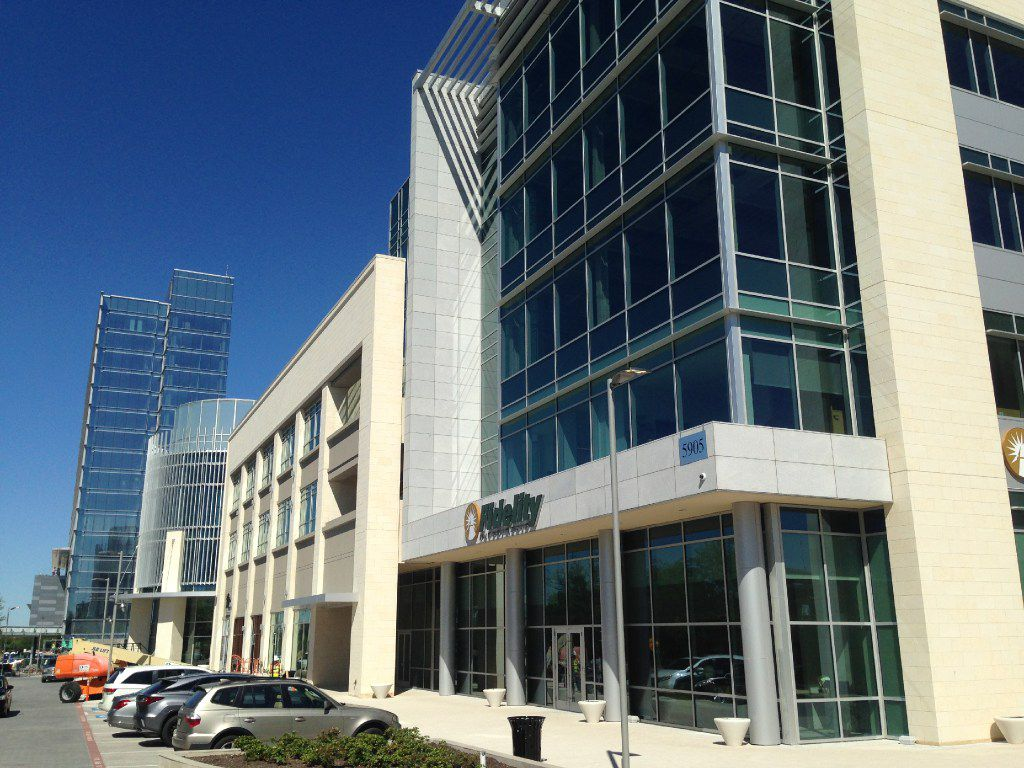 Boeing is going in the same Legacy West Urban Village building that houses Fidelity Investments. (Steve Brown/Dallas Morning News)
