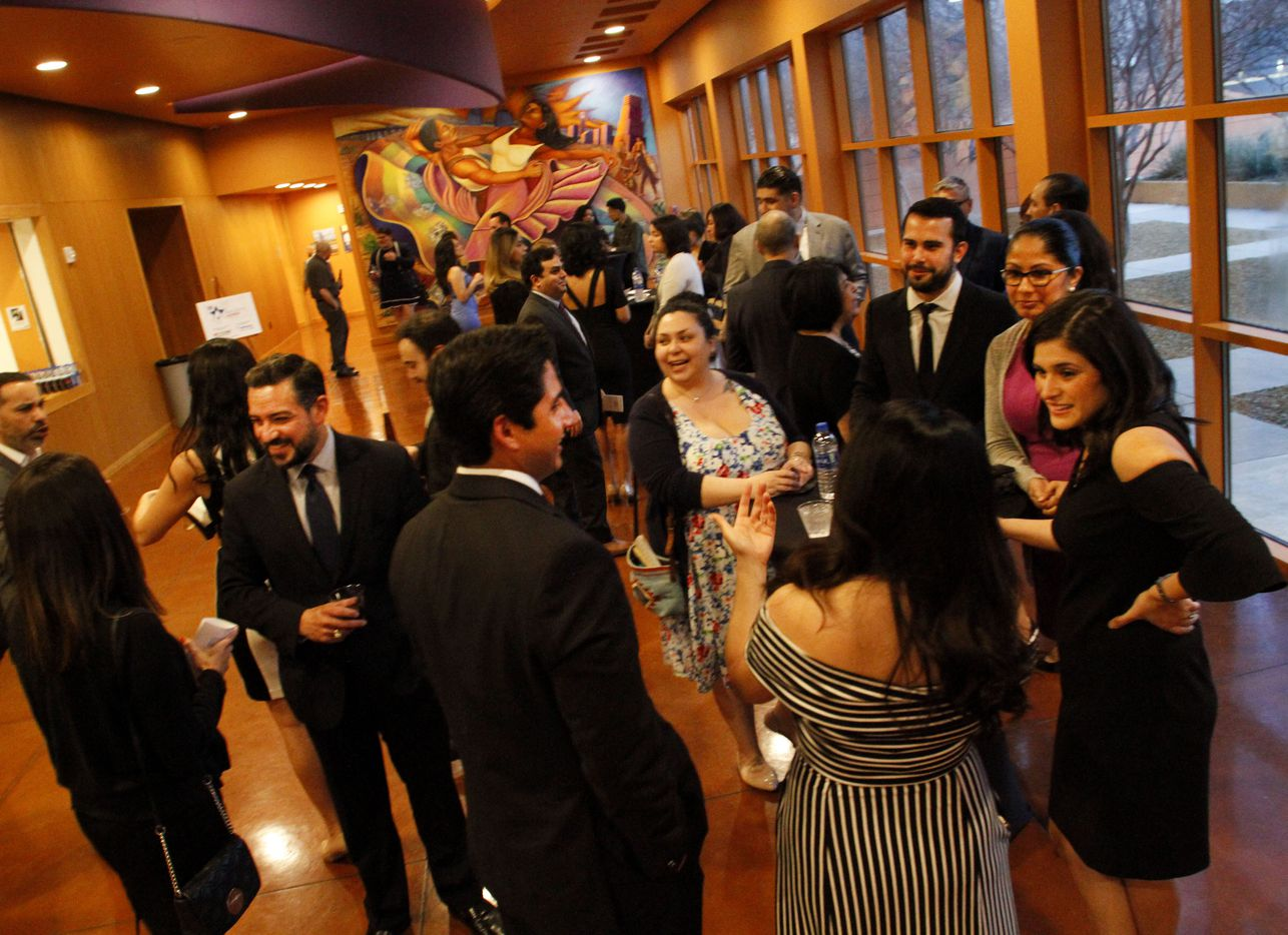 Latino Center for Leadership Development hold a reception at their 2019 Adelante Address at the Latino Cultural Center in Dallas on Saturday, March 09, 2019.
