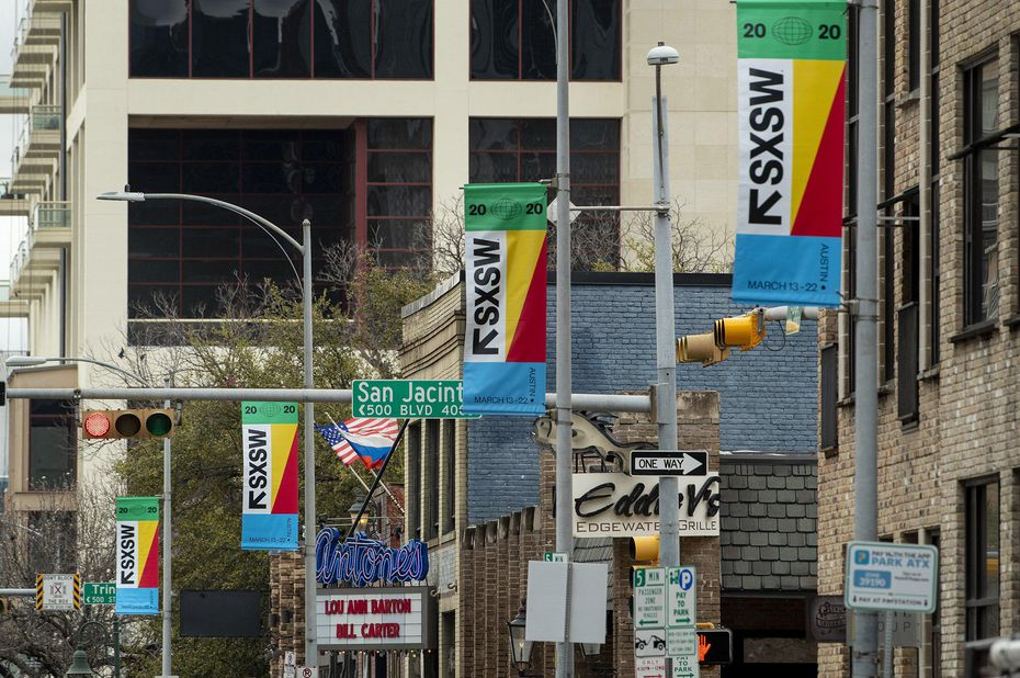 Coronavirus fears have prompted officials to cancel the 2020 South by Southwest festival in Austin, Texas, just seven days before the 2020 event was scheduled to start. (Jay Janner/Austin American-Statesman/TNS)