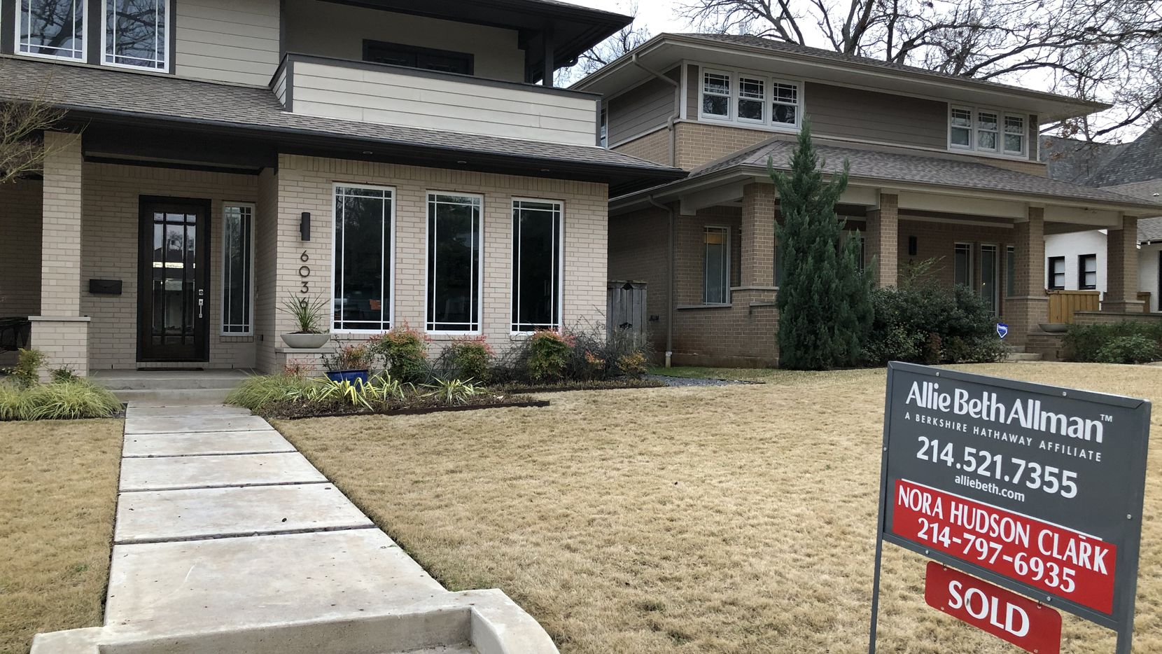 D-FW median home prices are still up from a year ago.
